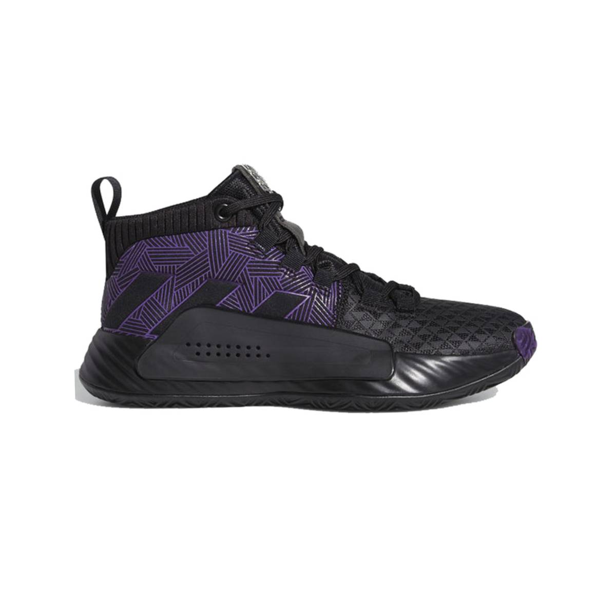 Details about Adidas Kid's Dame 5 Marvel Black Panther Wakanda GS Basketball Shoes EG2627