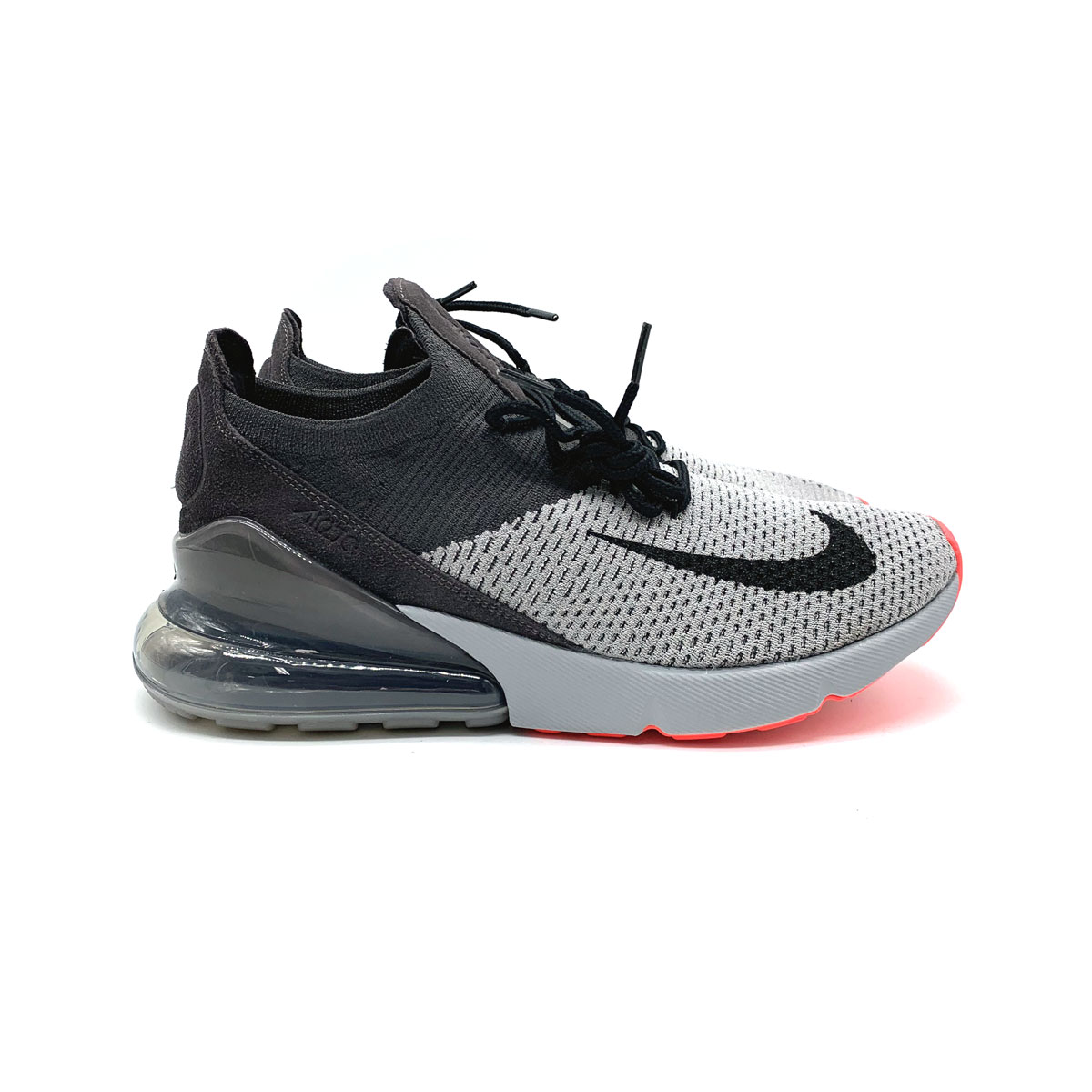 quality design 6a62b d1e88 Details about Nike Air Max 270 Flyknit Atmosphere Grey Thunder Grey Running  Shoes